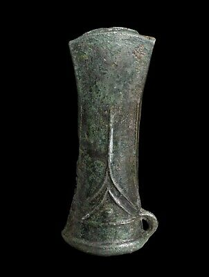 A Large European Bronze Socketed Axe, 800-700 Bc