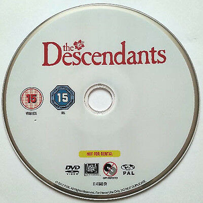The Descendants (DVD) Disc Only - George Clooney - Hawaii - 2011