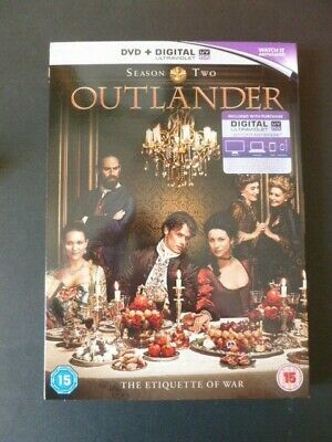 Outlander Season Two DVD with Unused Digital UV Code