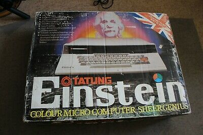 Vintage Tatung Einstein Computer (BRAND NEW) NEVER USED CONDITION