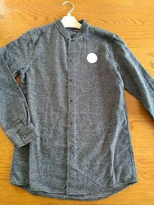 BNWT boys long sleeve dark grey Next shirt. 9 years                (3/3)
