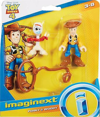 Disney Pixar Toy Story 4 Imaginext: Woody and Forky - Brand New
