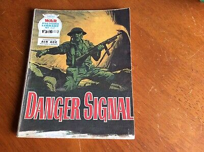 war picture library No 637 Danger Signal