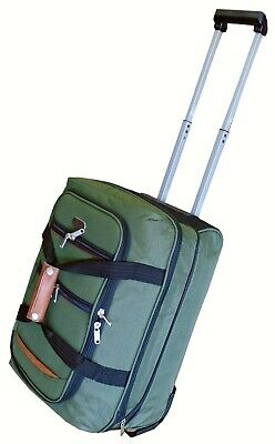 Wheeled Hand Luggage Cabin Expandable Holdall Travel Trolley Bag Easyjet BA JET2