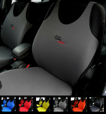 Dark Grey Seat Covers For Peugeot 406 407 408 4007 4008 508 5008 Cc Sw 607