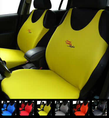 Yellow Car Seat Covers For Peugeot 406 407 408 4007 4008 508 5008 Cc Sw 607