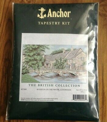 Anchor Tapestry Kit Bourton on the Water (Cotswolds). Free Postage