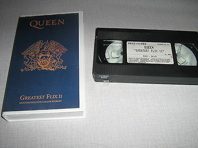 Queen K7 Video - Greatest Flix Ii