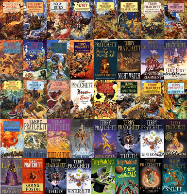 Complete Discworld by Terry Pratchett Collection of MP3 Audiobooks