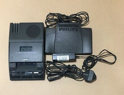 Philips 710 Transcription System and LFH 2210/00 Foot Pedal