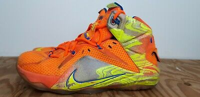 c3a93e31b7fd NIKE LEBRON XII six meridians mens 9 684593-870 basketball shoes ...