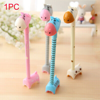 Stationery Smooth Writing Tool Gel Pen Ballpoint Pedestal Creative Horsehead