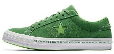 df54a759b960bc Converse One Star OX Sneakers Shoes Mint Green Suede 159816C Men s 9.5