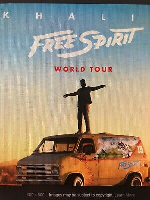 Khalid Free Spirit CD 2019 Physical Factory Sealed Album BRAND NEW In-Hand