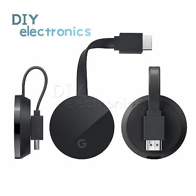 For Gogle Chromecast AnyCast WiFi Ultra 4K Digital HDMI Media Streaming US
