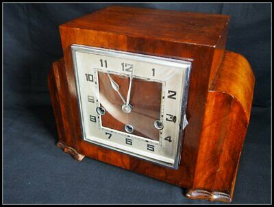 Art Deco Mantel Clock. Westminster Chime.