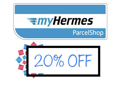 MyHermes Hermes Delivery 20% OFF online DISCOUNT  CODE
