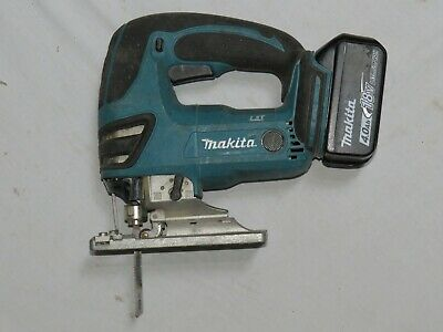 Makita BJV180Z 18V LXT Li-ion Cordless Jigsaw With Makita 4.0Ah Battery Included