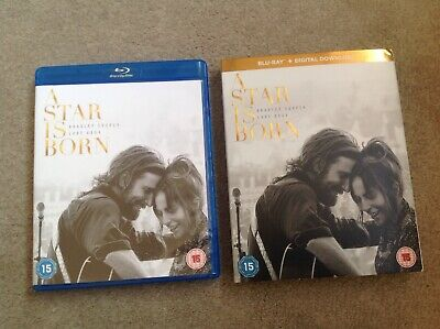 A Star is Born  [2018] (Blu-ray) Bradley Cooper, Lady Gaga (No Digital Download)