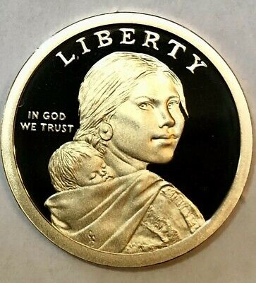 2019-S Proof Sacagawea Native American Dollar; GEM PROOF!