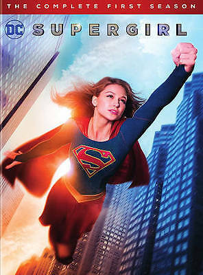 DC Supergirl: The Complete Season 1 (DVD) w/Slipcover BRAND NEW SEALED