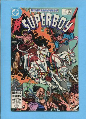 The New Adventures of Superboy #49 Dial H For Hero DC Comics January 1984