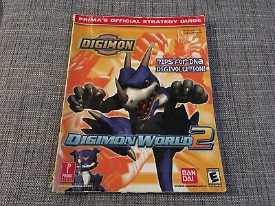Digimon World 2 Prima Official Strategy Guide Book