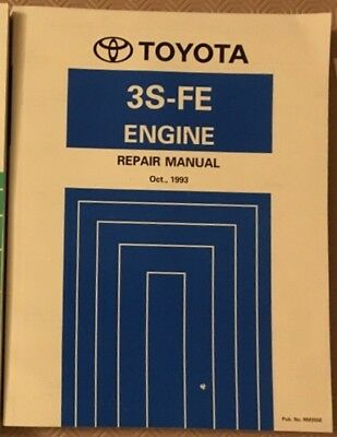 toyota 3s-fe 3sfe toyota engine manual mr2 mk2 uk model