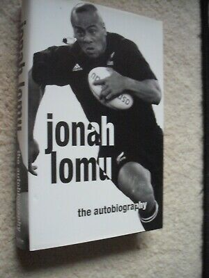 Jonah Lomu Signed All-Blacks Rugby Autobiography