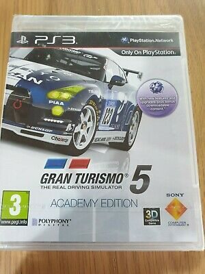 Gran Turismo 5 Academy Edition Ps3 Game! New And Sealed (Tear)  Free Uk P&p!