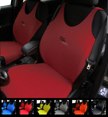 Dark Red Seat Covers For Peugeot 301 304 305 306 307 308 3008 Cc Sw