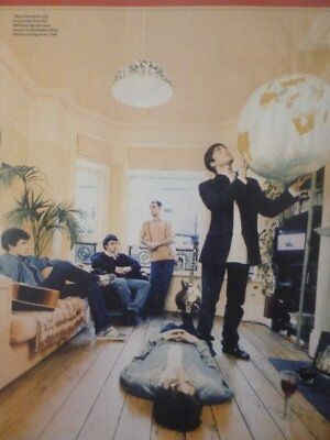 Oasis, Definitely Maybe Photo Shoot, 1994 - Mini Press Poster