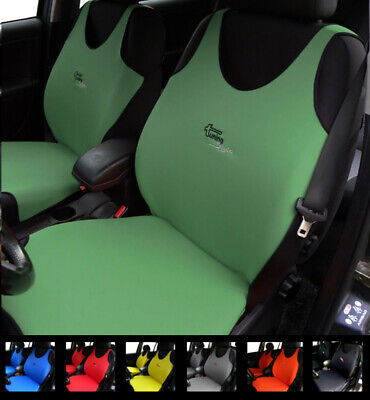 2 Green Car Seat Covers For Peugeot Boxer Export Partner Tapee Traveller