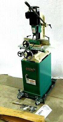 NEW! Grizzly G0448 1.5 HP Heavy-Duty Mortising Machine On Stand / Rolling Base