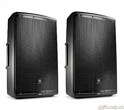 "JBL EON615 - 15"" Self Powered Active PA Loud Speaker - Pair"