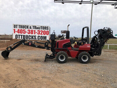 2015 Toro RT600 Trencher Backhoe Cable Plow New 10 Hrs Used
