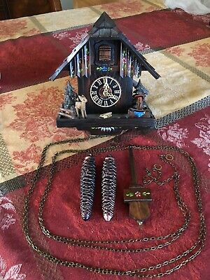 Vintage Black Forest  CUCKOO CLOCK  MADE IN GERMANY Certificate of Authenticity!