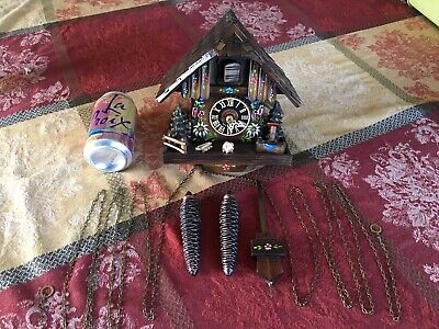 VTG Black Forest  CUCKOO CLOCK  MADE IN GERMANY Certificate of Authenticity!