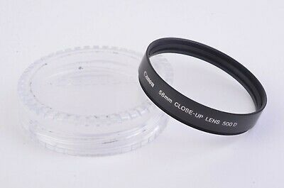 MINT CANON 58mm 500D CLOSE-UP LENS IN JEWEL CASE, VERY CLEAN