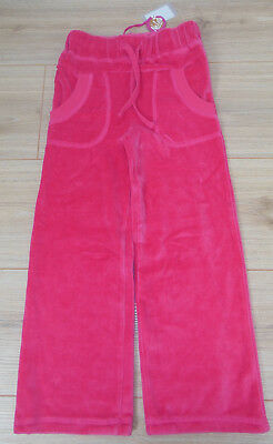 Pink velour trousers Nolita Pocket girl  tracksuit joggers pants 3-4 y  BNWT