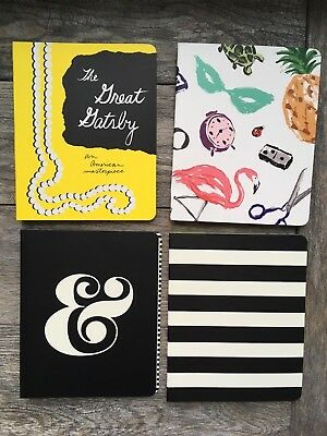 Kate Spade Notebook Pick style: Gatsby, Ampersand, Favorite Things or Stripes NP