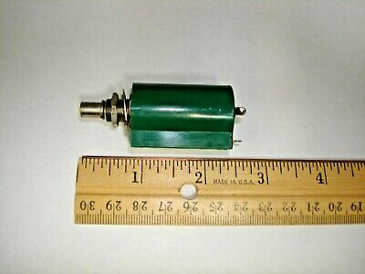 Clarostat 62JA-10K Rotary Potentiometer Wirewound 10 K Ohm 2W ±5% 10 Turn Linear
