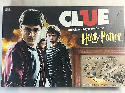 2016 Clue Harry Potter Edition Open Box Complete