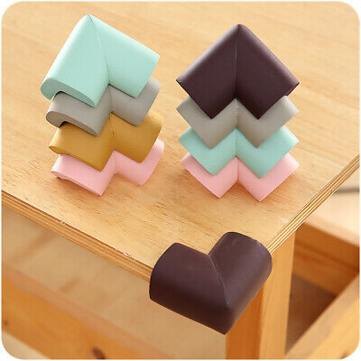 8pcs Baby Safety Corner Cushions Edge Protector Desk Table Proofing Covers Child