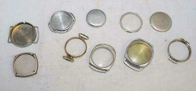 Good Collection of Watch Cases Vintage Watch Cases Job Lot