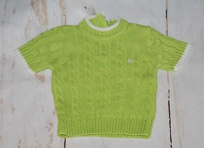 BNWT, Zippy, Baby Girl, Cotton, Cable, Knitted, Top, 9-12 months