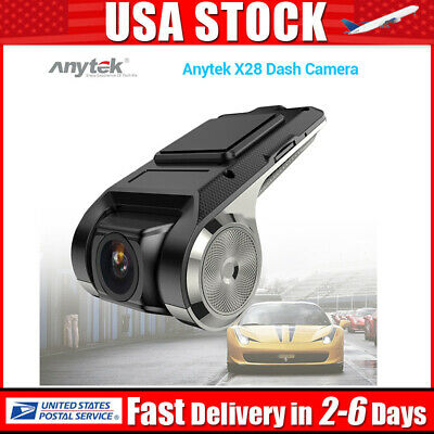 Anytek X28 1080P Car DVR Camera Video Recorder WiFi ADAS G-sensor Dash Cam GPS