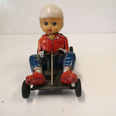 Go Kart Model, Friction Drive Used Very Rare Tm Models Made In Japan