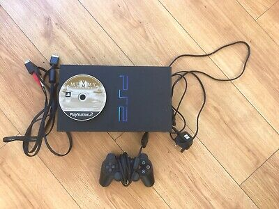 PS2 console original Black - 15 X Games 1 X Controller, Ready To Play!