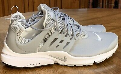 NEW Mens Nike Air Presto Essential Wolf Grey Running Shoes Size 11 848187-013